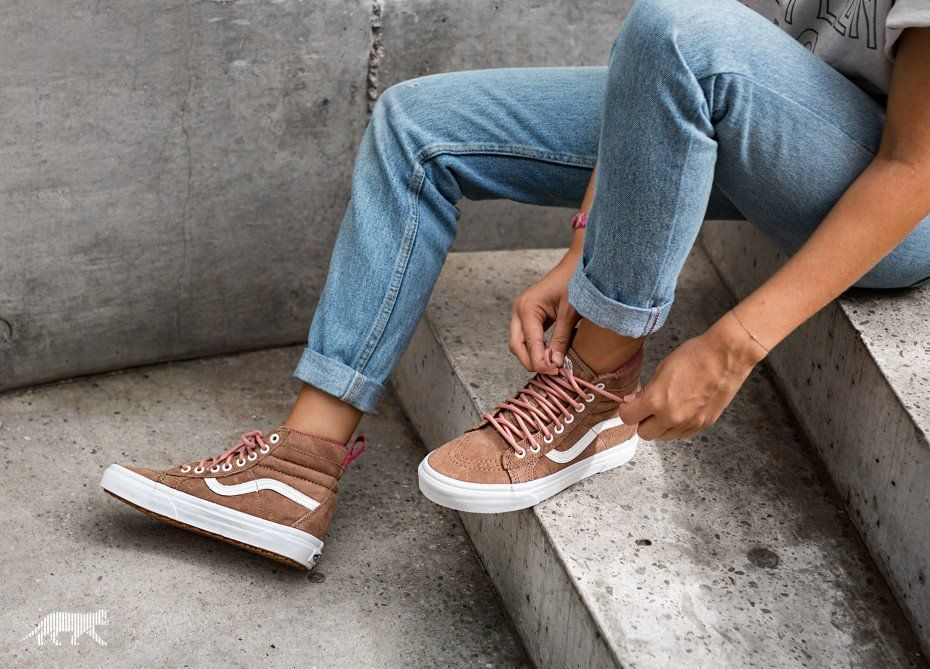 3c64b89c73ce Vans SK8-Hi MTE (Toasted Coconut   True White)