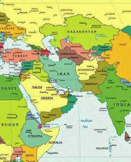 Iran Politics Club Iran Political Maps Middle East Caspian - Iran map quiz