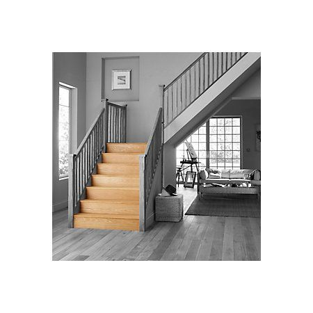 Stair Klad Oak Veneer Stair Flooring Tread Riser Kit Pack