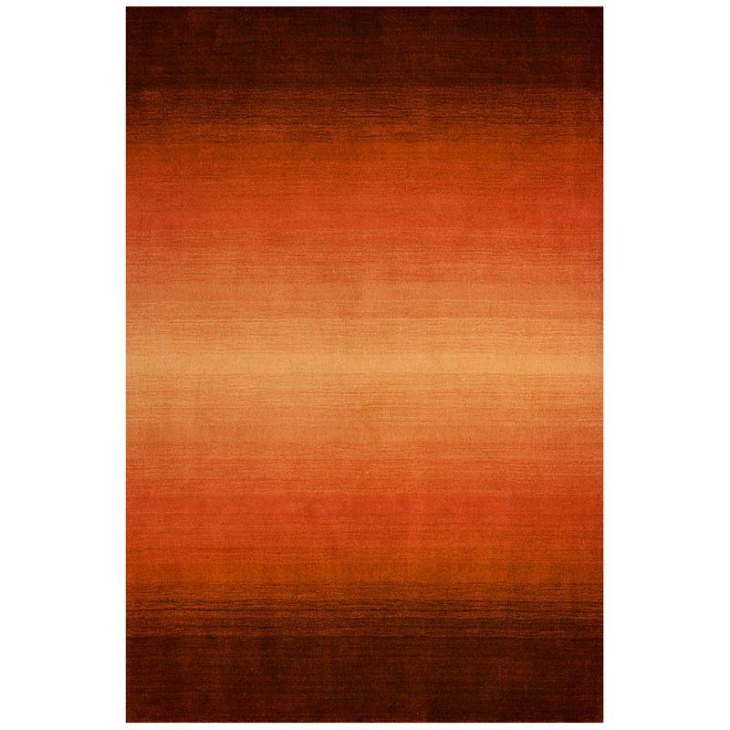 Artistic Stairs Canada: Momeni Metro Ombre Wool Rectangular Rug