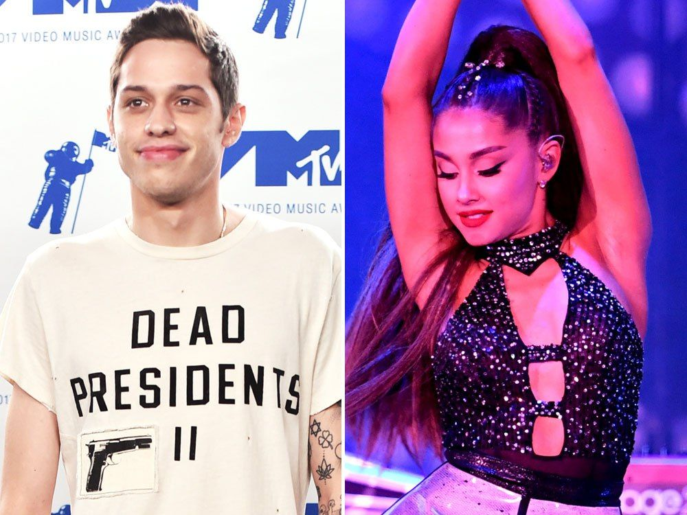 Pete Davidson gets 2 tattoos dedicated to Ariana Grande