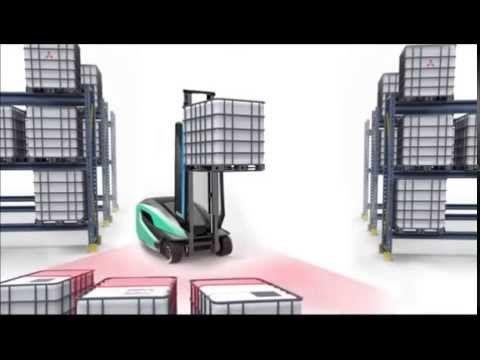 Mitsubishi Futuristic Forklift Who Doesn T Like The Future