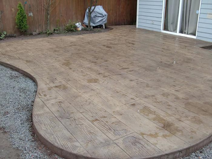 Concrete Wood Stamp Plank Stamped Deck Floors Stamps For Sale