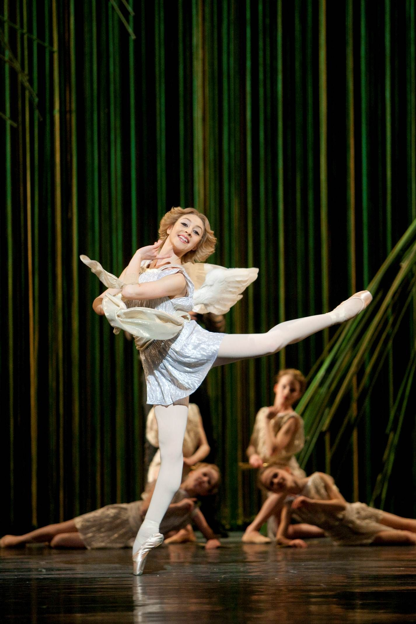 """Maia Makhateli as Cupid in """"Don Quixote"""" (Het Nationale Ballet). Photo by Angela Sterling"""