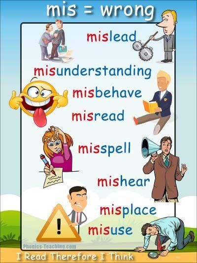 Greek and Latin Prefixes: Mis- and Tri- | Printable Worksheets