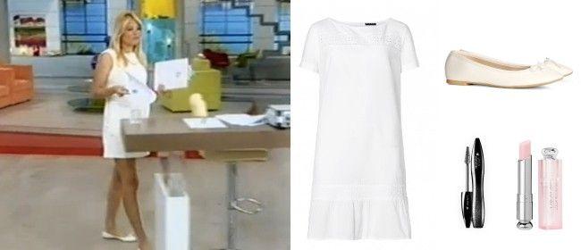 1a7411f901 Το λευκό φόρεμα της Φαίης Σκορδά και πώς θα το φορέσεις κι εσύ ...