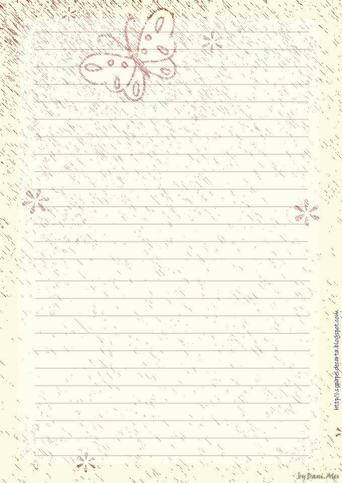 flores-06jpg (680×960) u2026 Pinteresu2026 - lined paper background for word