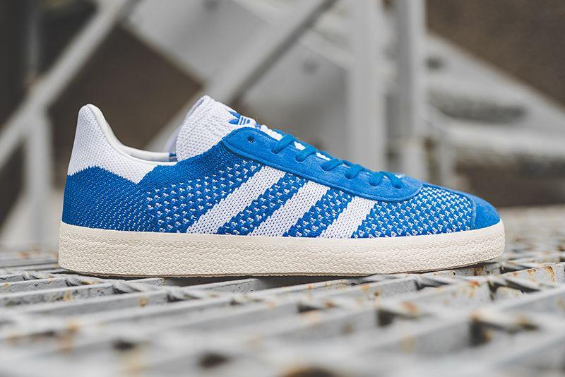 adidas Originals Gazelle Primeknit: Blue | Adidas, Adidas