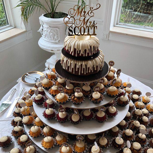 Cupcake Stand 7 nivel ronda 200 cupcakes sin pintar DIY