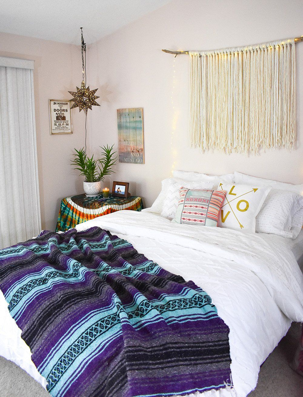 Boho + Hygge Dreamy Home Style in 2020 Bedroom decor