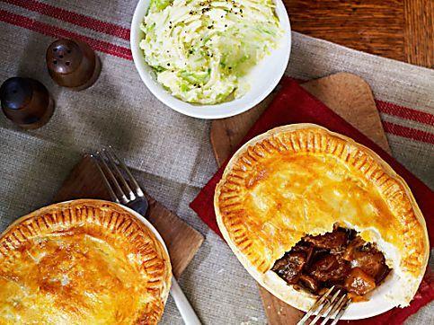 Hairy Bikers' steak and ale pie | Recipe | Steak, guinness ...