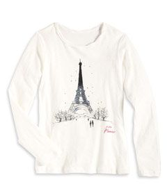 paris tee - Chasing Fireflies
