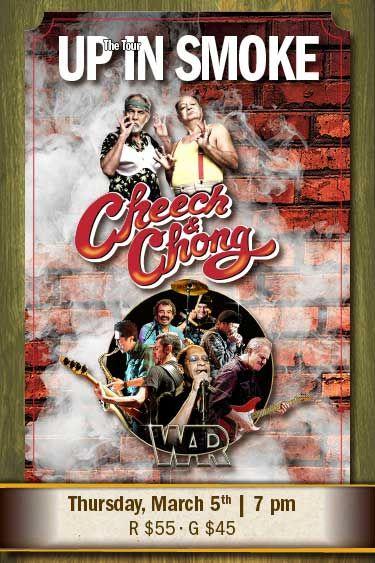 Up In Smoke | Cheech N Chong | CDA Casino Resort | Coeur d