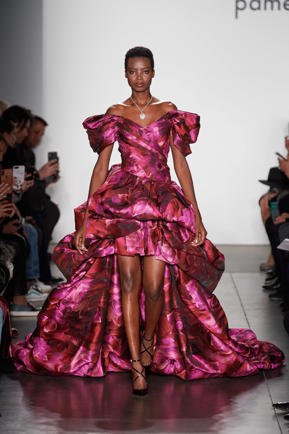 Pamella Roland Fall 2020 ReadytoWear Fashion Show in