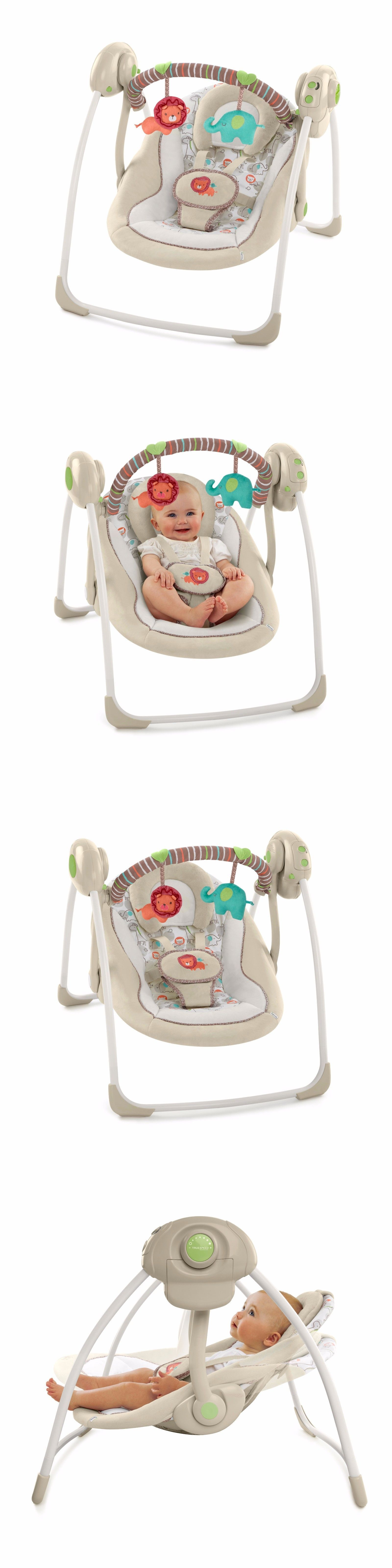 Bouncers and Vibrating Chairs Baby Portable Swing Infant