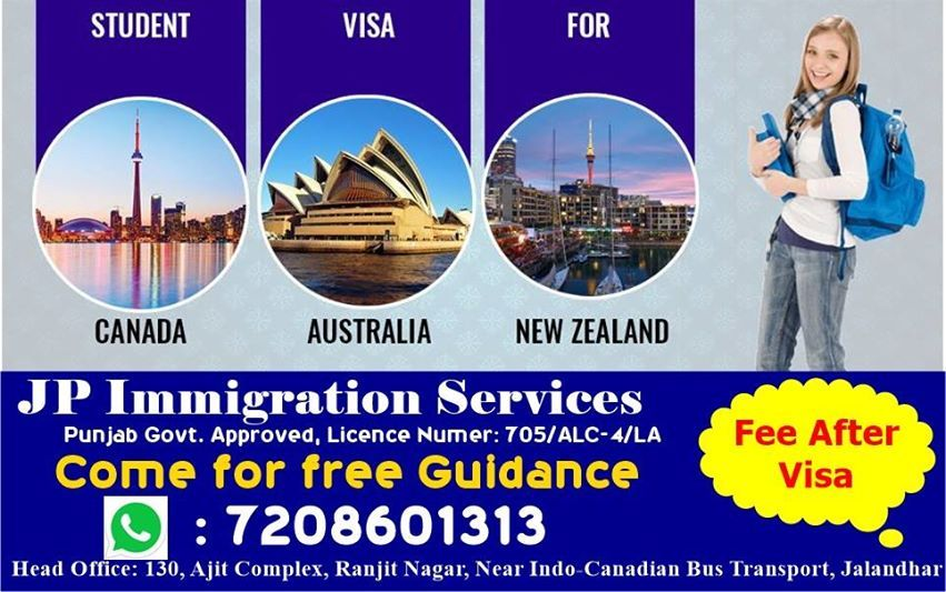 Planning To Study Abroad Team Jp Visa Consultants Is Known For Their Diligence And Commitment In Helping Students To Mak Visa Canada Immigration Study Abroad