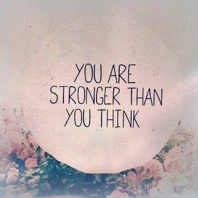 You are stronger than you think #quotes #brandymelvilleEU