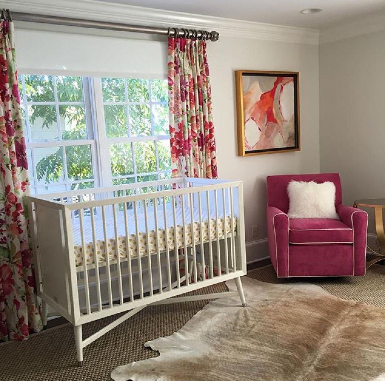 Loving This Beautiful Nursery Designed By Clark Interiors Charlotte Nc Using