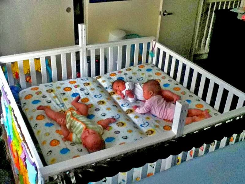 Twin Baby Cribs And Tender Babyhood | Peques | Pinterest | Cunas ...