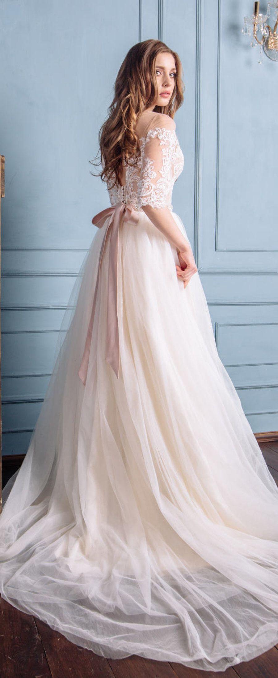 20 Fabulous Wedding Dresses You Can Buy On Etsy Belle The Magazine Etsy Wedding Dress Boho Wedding Dress Fairy Wedding Dress