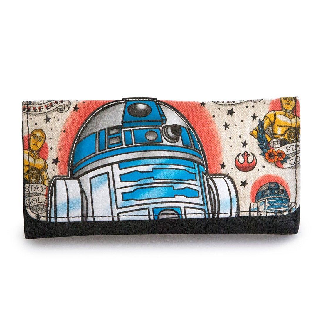 Loungefly x Star Wars: R2-D2 Tattoo Wallet - Star Wars - Brands