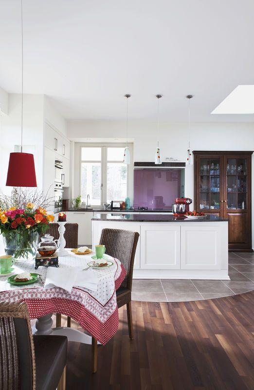 Otwarta Kuchnia Kuchnia Styl Nowoczesny Aranzacja I Wystroj Wnetrz Home Decor Decor Furniture
