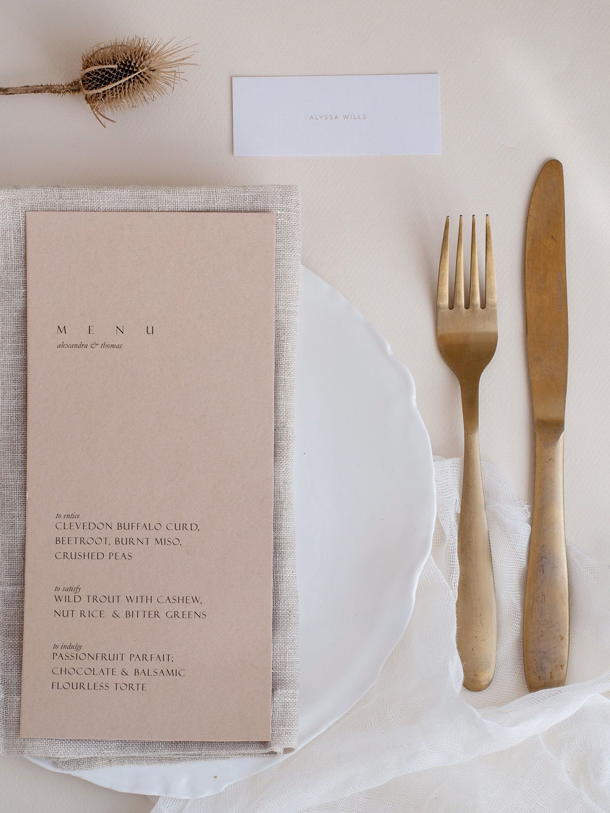 Earth Laden Place Settings – Style Guide The Lane