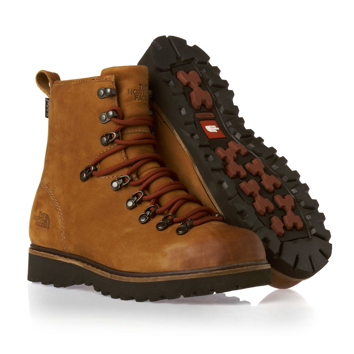 The North Face Ballard Boots - Camel Brown Slickrock Red. Full leather  upper bb06b008d1b