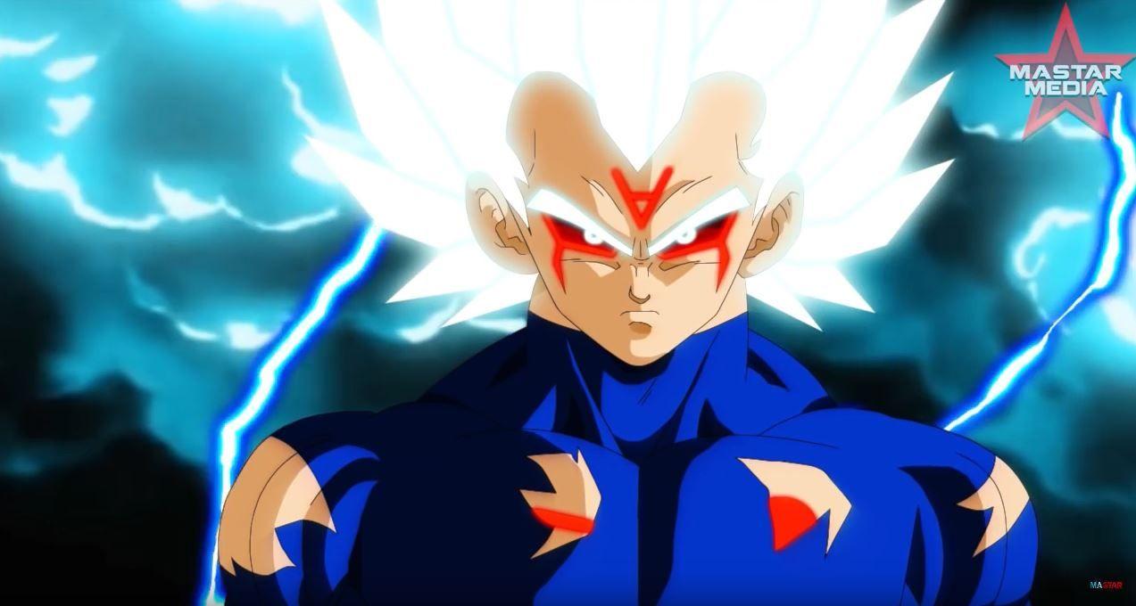 Mastar Media Anime War Vegeta Powered Up Omni Super Saiyan God Guerreiros Lendarios Lendario