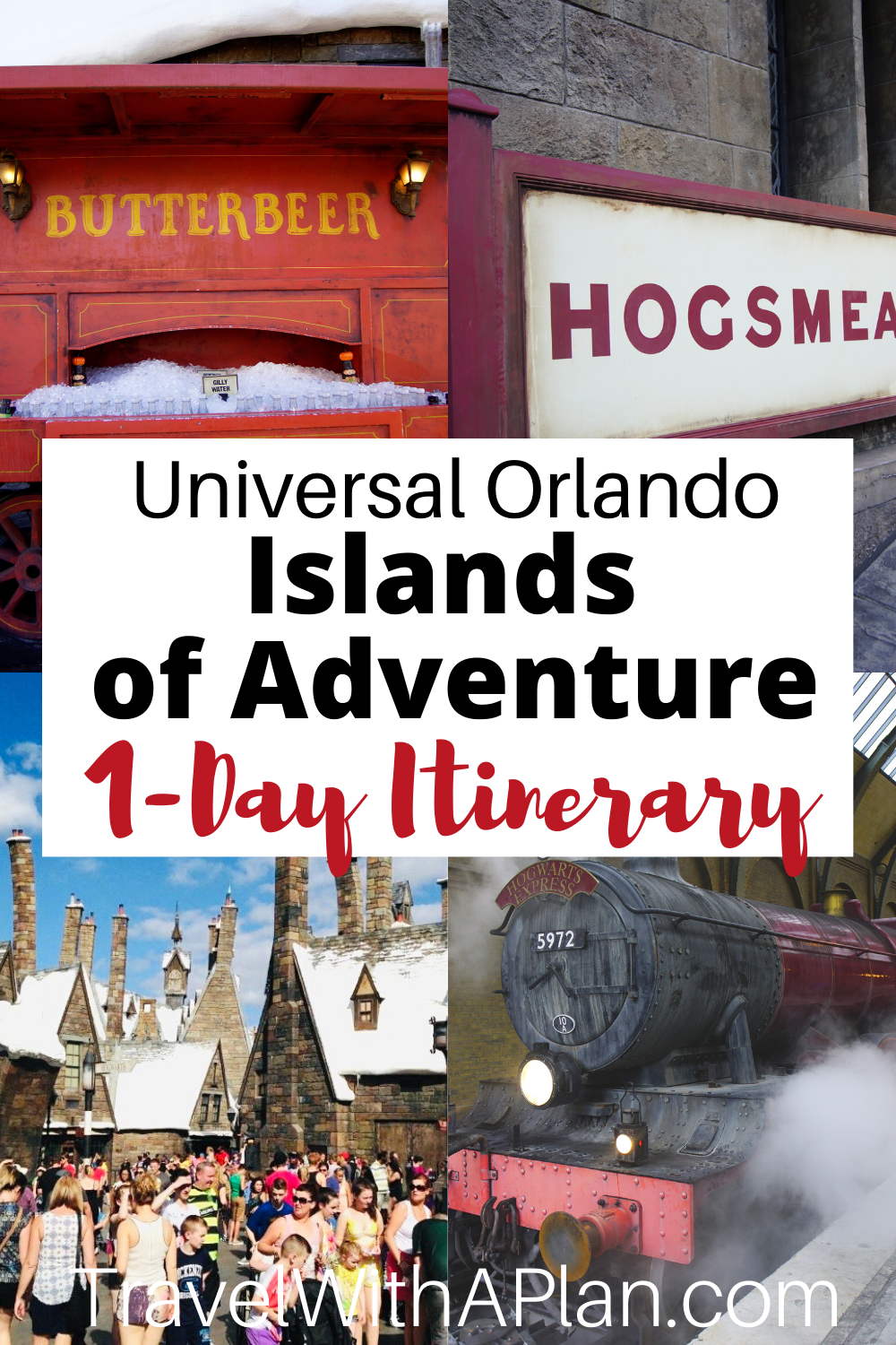 Islands Of Adventure Touring Plan 1 Day Itinerary Travel With A Plan Islands Of Adventure Island Of Adventure Orlando Universal Islands Of Adventure