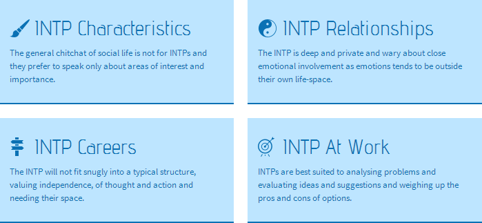 INTP characteristics, careers, relationships, and at work  | All