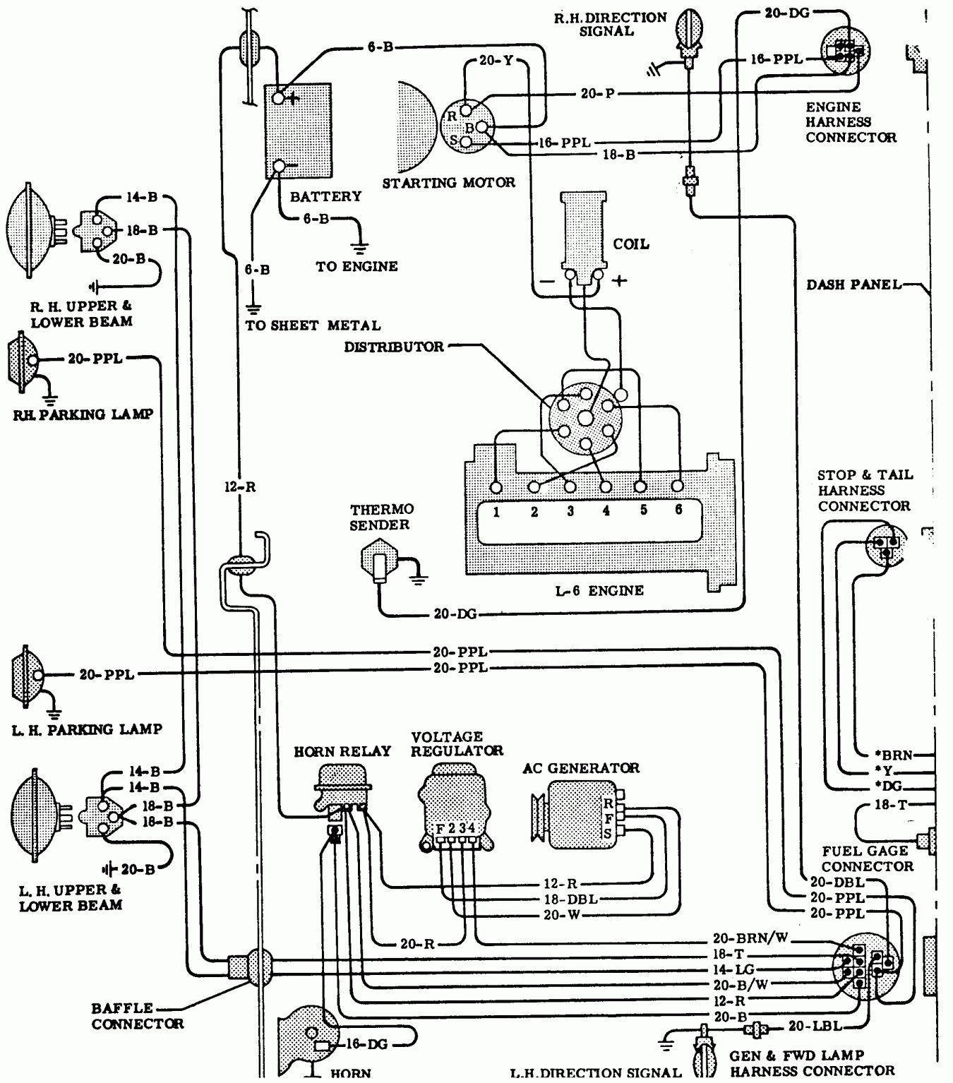 Chevy Truck Electrical Wiring Diagram And Gmc Pickup