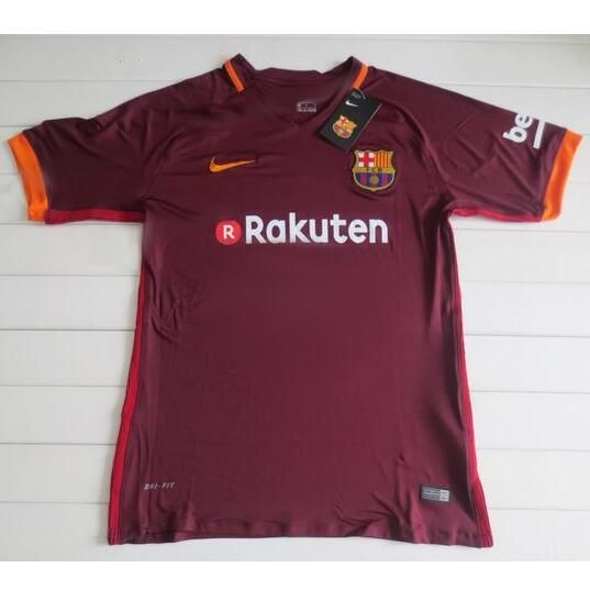 Nueva Camiseta Tercera Tailandia del FC Barcelona 2017 2018  0181723e4cf
