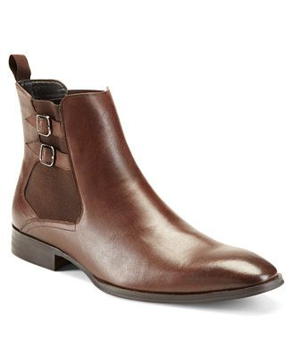 Alfani Rory Double Buckle Dress Boots With Images Mens Shoes