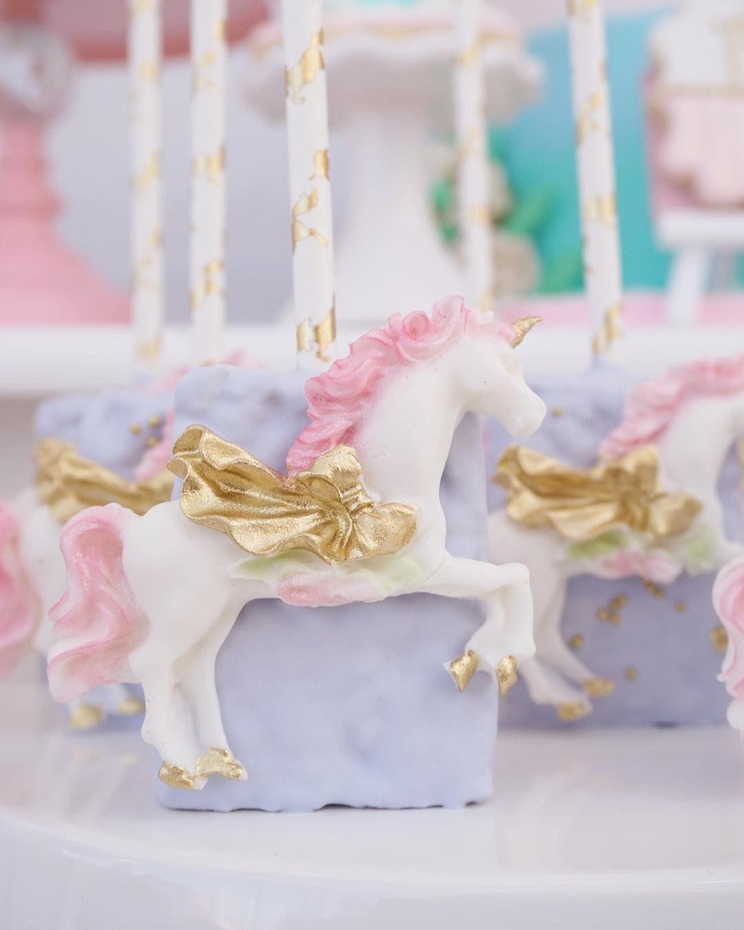 Unicorn Rice Krispies