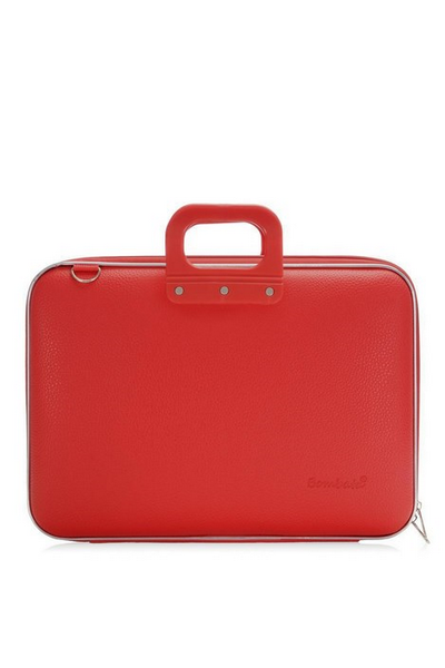 Laptoptassen : Laptoptas 15 inch bordeaux CLASSIC BOMBATA
