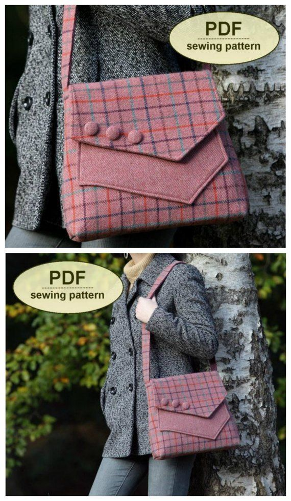 Aylsham Bag vintage inspired purse sewing pattern - Sew Modern Bags #pursesandbags
