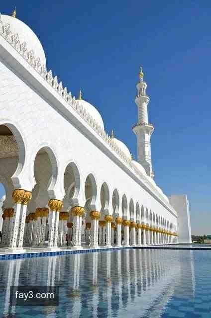صورة مسجد الشيخ زايد الكبير ٢٥ أبوظبي Sheikh Zayed Grand Mosque Beautiful Mosques Grand Mosque