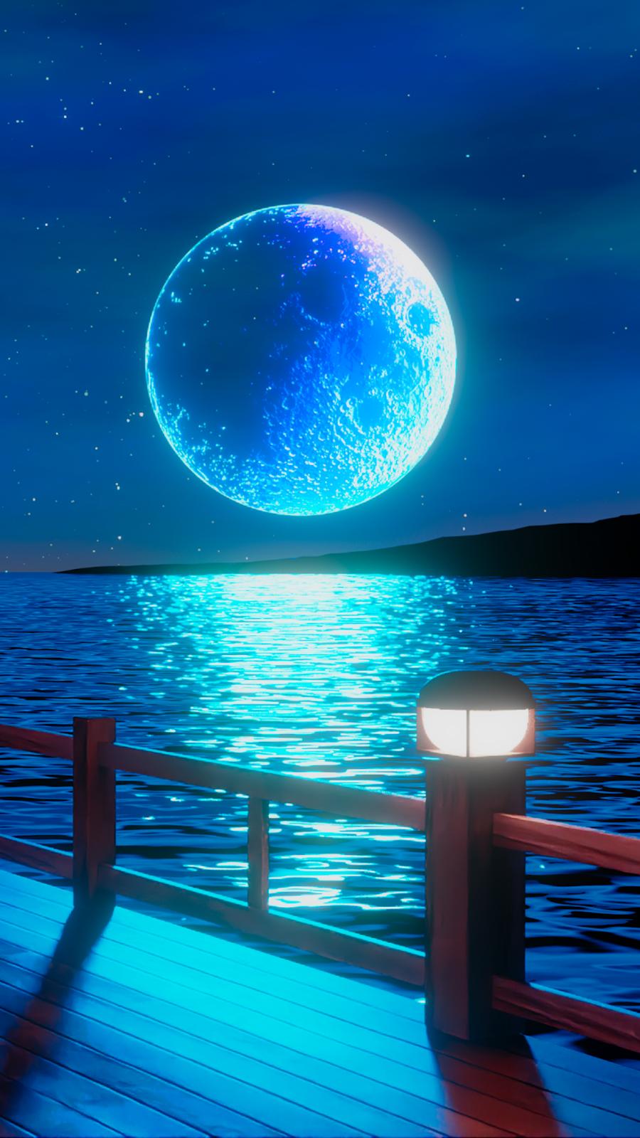Full Moon Of The Night In 2020 Iphone Wallpaper Sky Beautiful Wallpapers Scenery Wallpaper