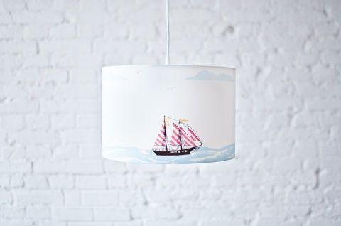 Lampa Wiszaca Okret Na Morzu Pendant Lamp Lamp Lamp Shade