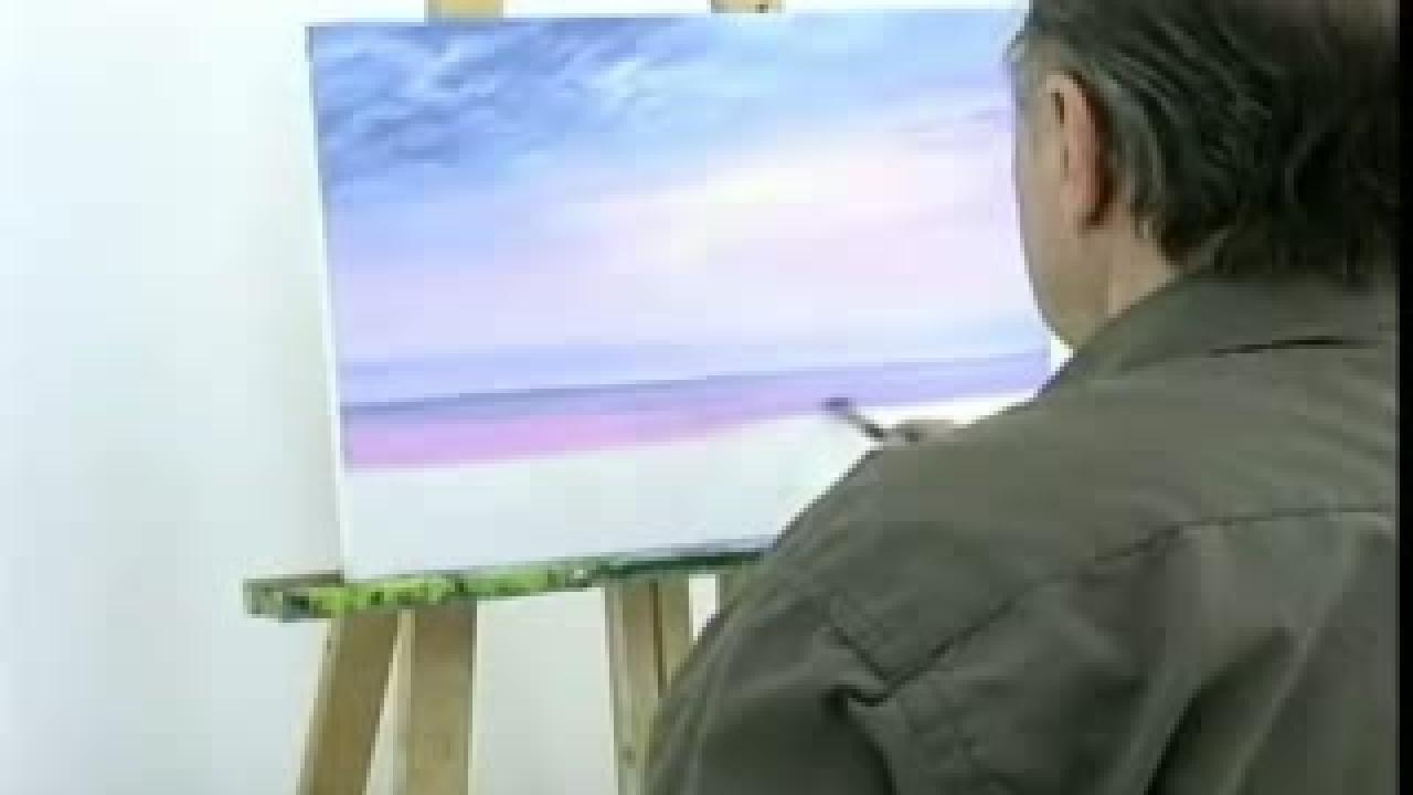 Superior Tuto Peinture A L Huile #3: Tuto Peinture, Peinture À Lu0027huile Paysage, Peinture Youtube, Comment  Réaliser, Dessin Art, Mer Suivez, Huile 1, Paysage Marin, Conseils