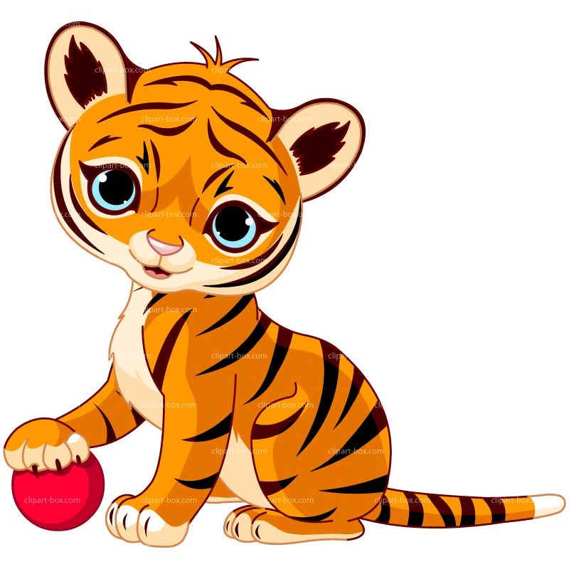 clipart baby tiger playing cheryl s clipart pinterest clipart rh pinterest com Cheetah Cubs Baby Cheetah Cubs