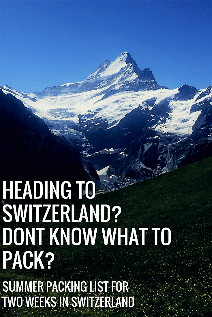Summer Packing Lists Budget Travel In 2020 Summer Packing Lists Switzerland Travel Summer Summer Packing