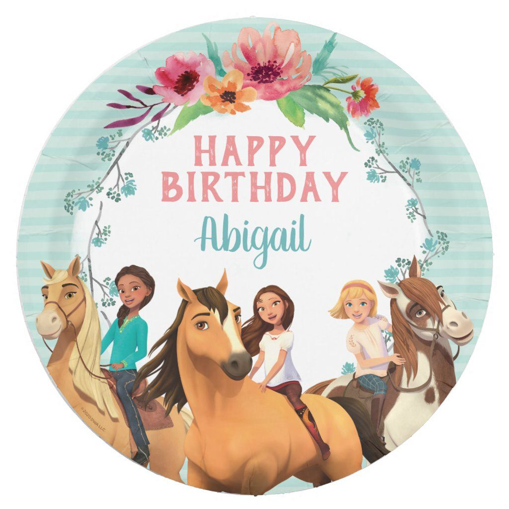 Spirit Riding Free Birthday Party 4th Tutu Outfit Personalized Name option