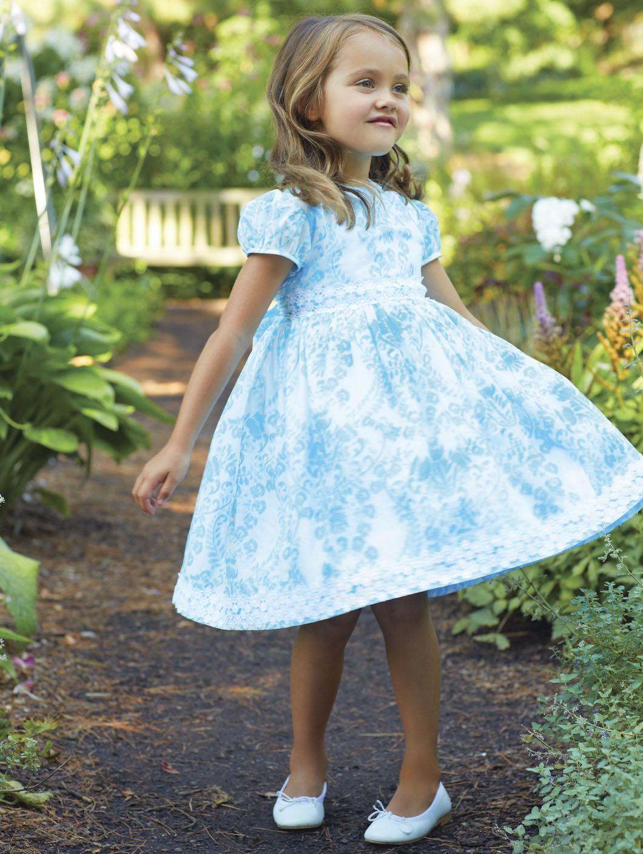 Oscar de la Renta Party Dress with Lace | DRESS OSCAR CHILDREN\'S ...