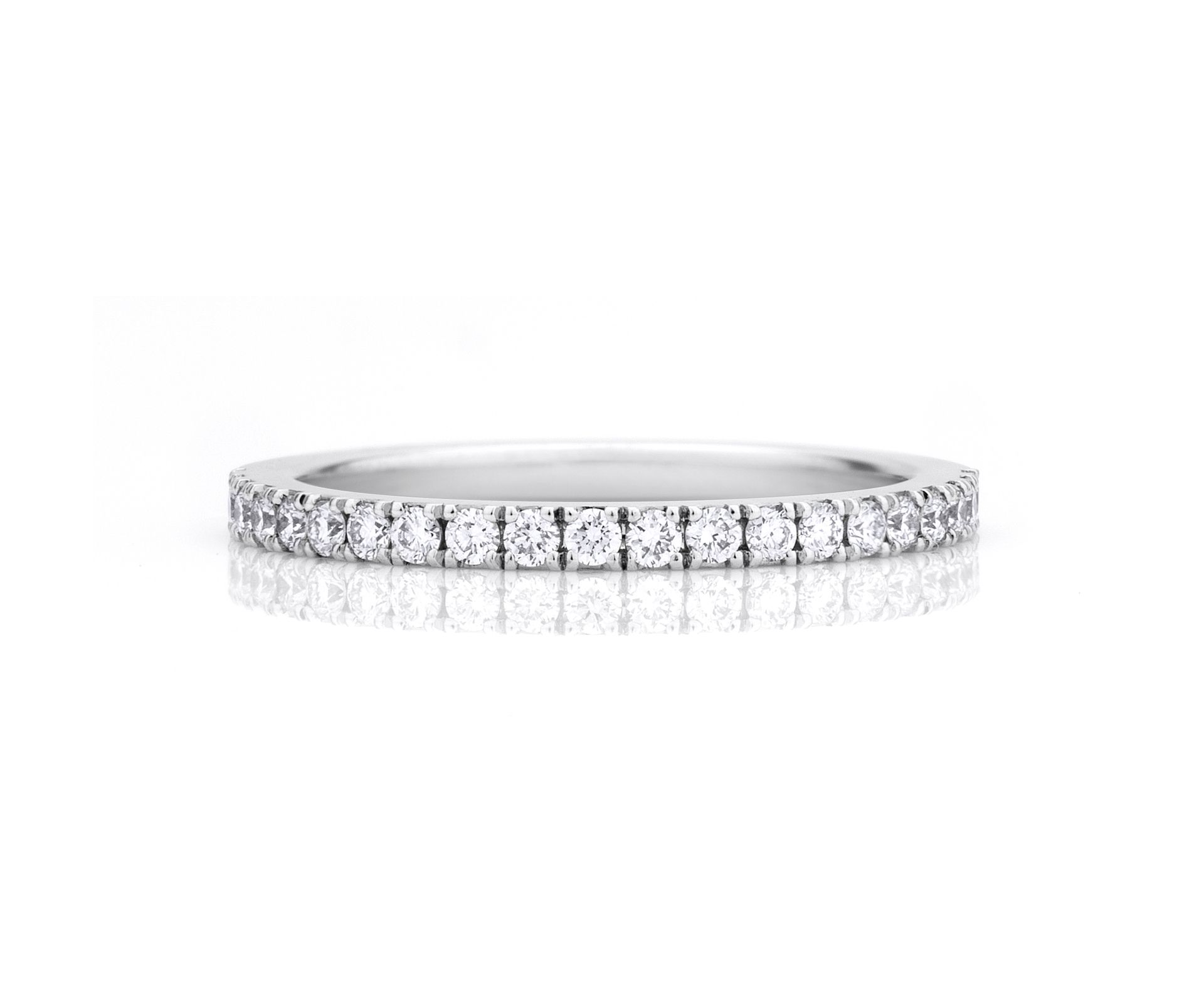 a4a2273013a36 DB Classic Pavé Eternity Band | DE BEERS JEWELRY | Diamond wedding ...