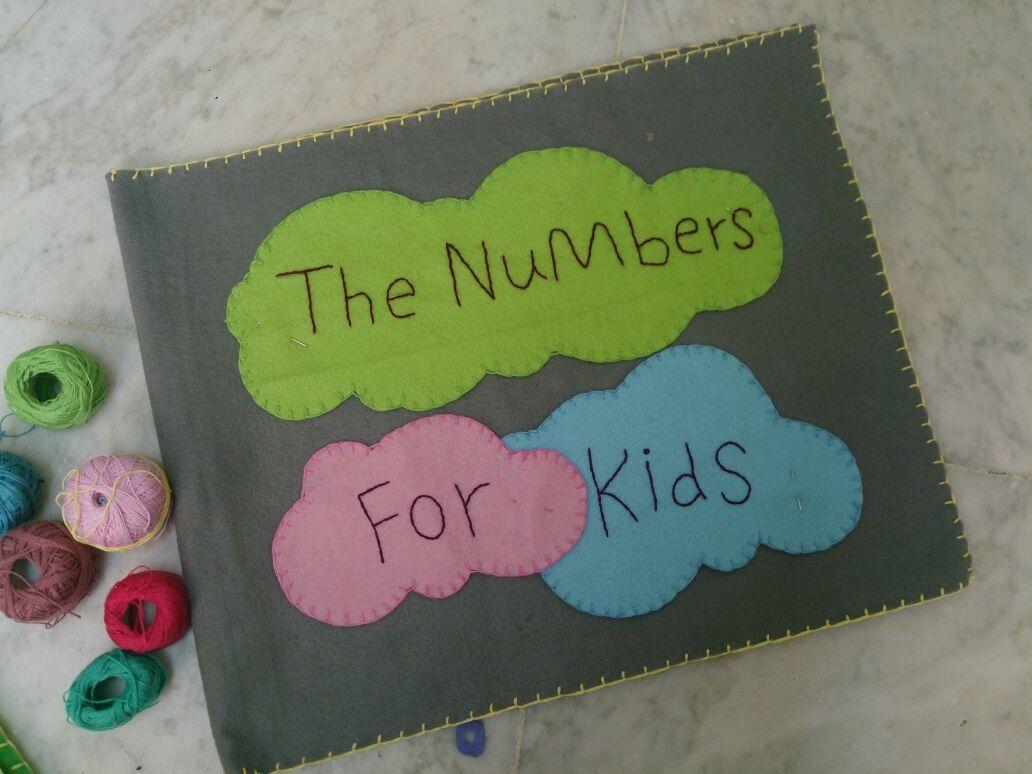 كتاب تعليمي للأطفال جوخ طفولة أطفال فكرةا للوحة وترابطها كتاب تعليمي للأطفال باللغة الإنجليزية تعليم الأرقام الإنجليزية من 1 الى 10 عن Numbers For Kids Kids