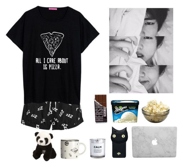 """""""Lazy love"""" by theycallmebeatriz ❤ liked on Polyvore featuring MINKPINK, Valfré, H&M and Itsy Bitsy"""