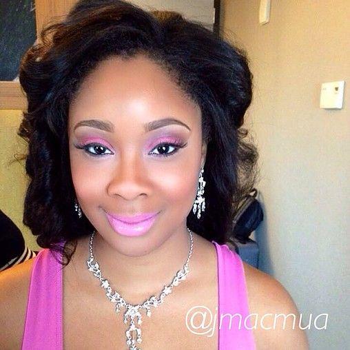 Bridal makeup, wedding makeup, makeup for black women, makeup for ...