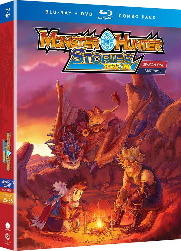 Monster Hunter Stories Ride On Season 1 Part 3 Bluray/DVD